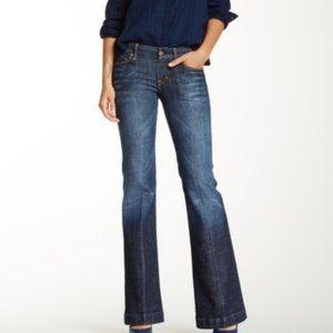 COH Faye Full Leg Low Rise Jeans 27